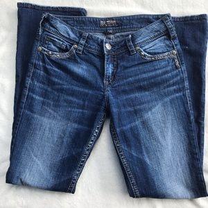 Silver Suki Jeans 29x33